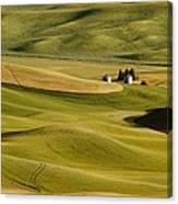 Palouse Fields Whitman County Canvas Print