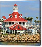 Parker's Lighthouse Restaurant Canvas Print