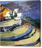 Paros Lefkes Canvas Print