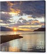 Pend Oreille Sunset Canvas Print