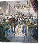 Perrault: Cinderella, 1867 Canvas Print