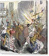 Presidential Campaign, 1844 Canvas Print