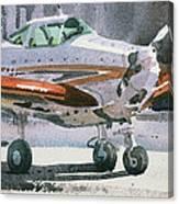 Private Plane Canvas Print