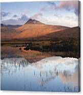 Rannoch Moor At Sunrise Canvas Print