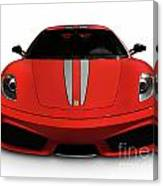 Red Ferrari F430 Scuderia Canvas Print