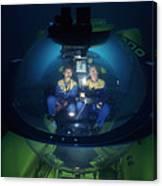 Research Submarine Canvas Print