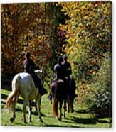 Riding Soldiers Canvas Print