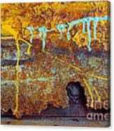 Rust Colors Canvas Print