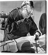Silent Film Still: Doctor Canvas Print