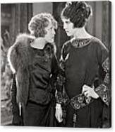 Silent Film Still: Women Canvas Print
