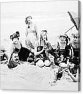 Silent Still: Beach Canvas Print