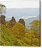 3 Sisters Blue Mountains Canvas Print