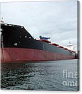 Tanker Ship  Canvas Print