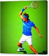 Tennis Art Canvas Print