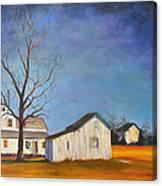 The Last Farm Canvas Print