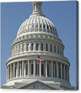 The United States Capitol Building Dome Canvas Print