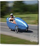 Velomobile Canvas Print