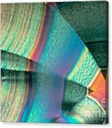 Vitamin C Crystal Canvas Print