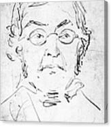 William M. Thackeray Canvas Print