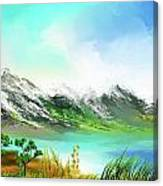 30 Minute Landscape Canvas Print