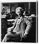 Samuel Langhorne Clemens Canvas Print