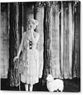 Silent Film Still Canvas Print