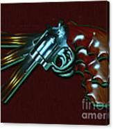 357 Magnum - Painterly Canvas Print