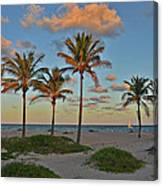 39- Evening In Paradise Canvas Print