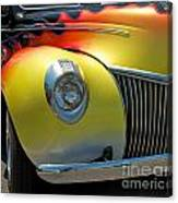 39 Ford Deluxe Hot Rod 3 Canvas Print