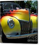 39 Ford Deluxe Hot Rod Canvas Print