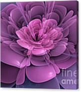 3d Flower Canvas Print