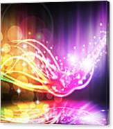 Abstract Lighting Effect  Canvas Print