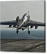 An Ea-6b Prowler Launches Canvas Print
