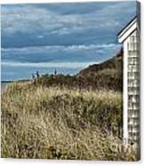 Beach Cottage Canvas Print