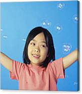 Bubbles Canvas Print