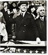 Calvin Coolidge (1872-1933) Canvas Print