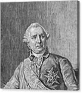 Charles De Vergennes Canvas Print