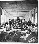 Civil War: Hospital Canvas Print