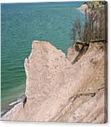 Coastal Erosion Canvas Print