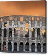 Colosseum. Rome Canvas Print