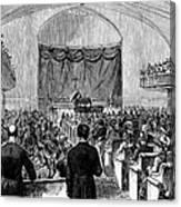 Cornelius Vanderbilt Canvas Print