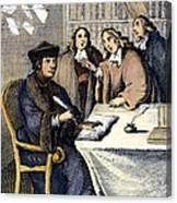 Desiderius Erasmus Canvas Print