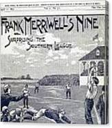 Dime Novel, 1897 Canvas Print
