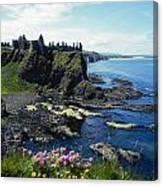 Dunluce Castle, Co Antrim, Ireland Canvas Print