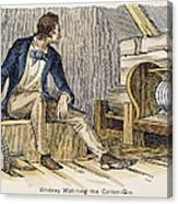 Eli Whitney (1765-1825) Canvas Print