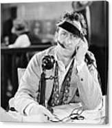 Film Still: Telephones Canvas Print