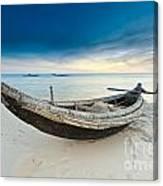 Fisherman Boat Canvas Print