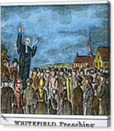 George Whitefield Canvas Print