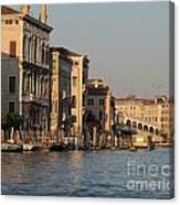Grand Canal. Venice Canvas Print
