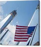 Ground Zero Freedom Tower Canvas Print